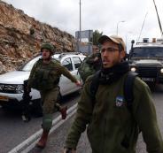 عملية اطلاق نار شرق رام الله