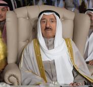 نقل أمير الكويت الى المستشفى