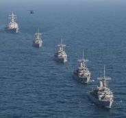 ايران وقوات اجنبية في الخليج
