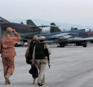 قصف يستهدف قاعدة عسكرية روسية في سوريا