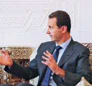 وفد اردني وبشار الأسد