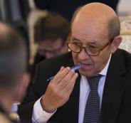 وزير خارجية فرنسا في رام الله