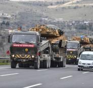 قوات تركية الى سوريا