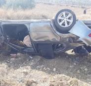 حادث سير جنوب الخليل