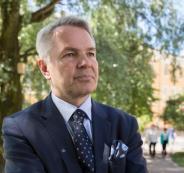 وزيرة الخارجية الفنلندي والضم