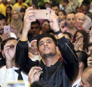 محمد عساف واجمل وجه في العالم