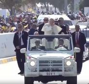 بابا الفاتيكان يترأس أول قداس بالخليج العربي في الامارات