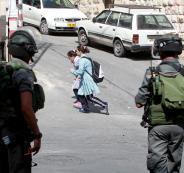 محاصرة طلبة في ابو ديس