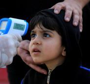 فيروس كورونا في صفوف الاطفال الفلسطينيين