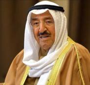 امير الكويت في السعودية