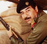 خامنئي وصدام حسين والحرب الايرانمية العراقية