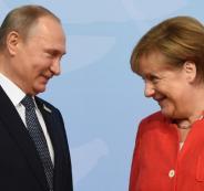 ميركل وروسيا