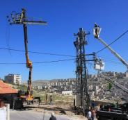 ازمة الكهرباء في نابلس