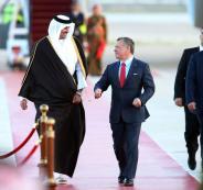 زيارة امير قطر في الاردن