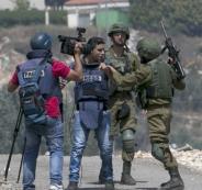 الاعتداء على الصحفيين الفلسطينيين