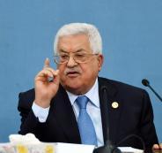 عباس  وضم الضفة الغربية الى اسرائيل