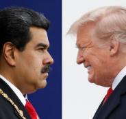 مادورو وترامب وفنزويلا
