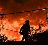 الحرائق في اميركا