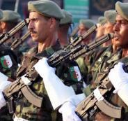 الجيش الجزائري قرب الحدود التونسية