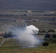 طيران الاحتلال يقصف جيش الاسد بالقنيطرة