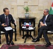 رئيس الوزراء الفلسطيني اشتيه