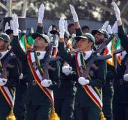 الحرس الثوري الايراني والشيطان الاكبر