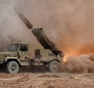 سوريا واقوى راجمة صواريخ في العالم