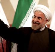 فوز روحاني بالانتخابات الايرانية