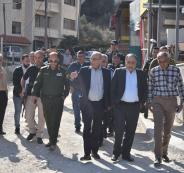 بلدية نابلس وازالة لتعديات في شوارع المدينة