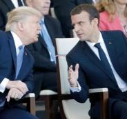 ترامب وماكرون يبحثان الأوضاع في سوريا والشرق الأوسط