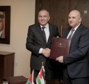 وزارة الاتصالات الفلسطينية والاردنية
