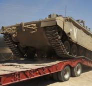 الجيش الاسرائيلي ينقل دبابات الى القدس