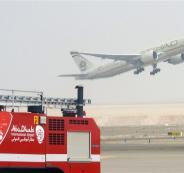 قصف مطار ابو ظبي