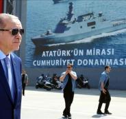 اردوغان والسفن التركية