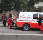 إصابة أربعة مواطنين بحادث سير في خان يونس