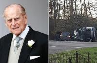 حادث زوج ملكة بريطانيا