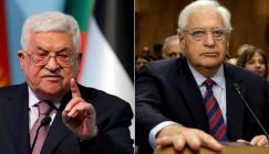 عباس والسفير الامريكي في اسرائيل