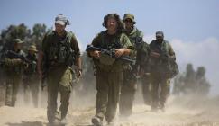الجيش الاسرائيلي وفلسطينيين