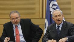 نتنياهو وليبرمان والتهدئة في غزة