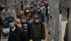 عودة العمال الفلسطينيين الى الضفة الغربية