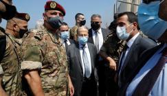 الرئيس اللبناني وانفجار بيروت