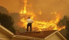 23 طائرة لإخماد حريق ضخم في اسبانيا وإخلاء 1800 شخص