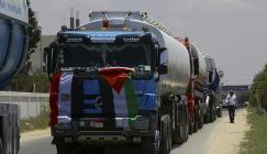 ادخال الوقود المصري الى قطاع غزة