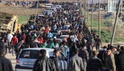 اصابات خلال مسيرات العودة بغزة