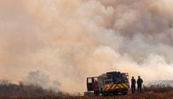 حرائق في قطاع غزة