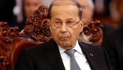 ميشال عون والتظاهرات في لبنان