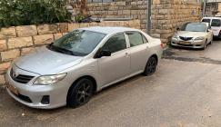 اعطاب مركبات في القدس