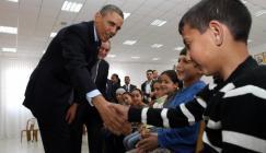 الدعم الامريكي للفلسطينيين