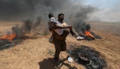 الامم المتحدة والفلسطينيين في غزة