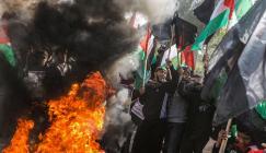تظاهرات في فلسطين ضد صفقة القرن
